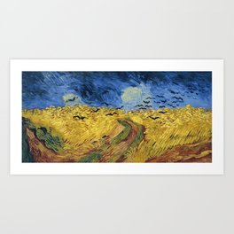 Wheatfield with Crows by Vincent van Gogh Art Print