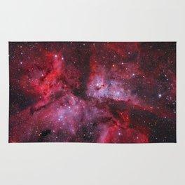 Carina Nebula Milky Way Galaxy Rug