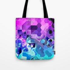 Geometrical Liquid. Tote Bag