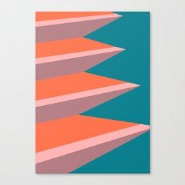 Poolside II Canvas Print