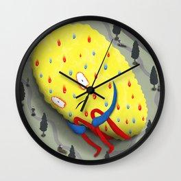 Urban Anxiety Wall Clock