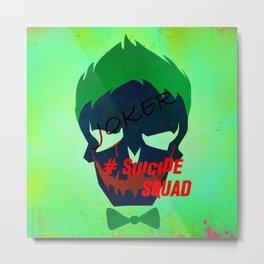 "JOKER ""Suicide Squad"" Metal Print"