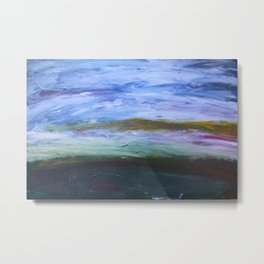 Landscape Painting  Metal Print