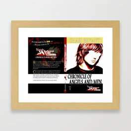 Chronicle of Angels and Men Full Cover Art Framed Art Print