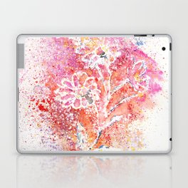 Flowers Illustration Art Laptop & iPad Skin