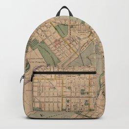 Vintage Map of Richmond Virginia (1876) Backpack