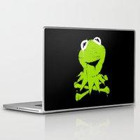 kermit Laptop & iPad Skins featuring Pochoir - Kermit by Krikoui