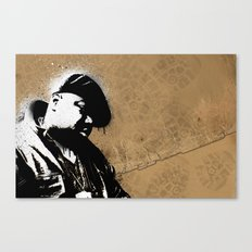 The Notorious B.I.G. - Biggie Smalls Canvas Print