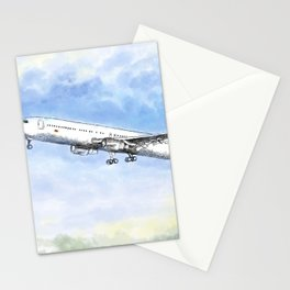 Airplane Flight Stationery Cards