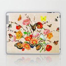 Butterfly Bouquet  Laptop & iPad Skin