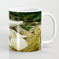 duck Mugs featuring duck by gzm_guvenc
