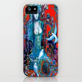 Scared and Profane Fashionista iPhone Case