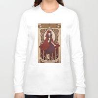 subaru Long Sleeve T-shirts featuring Little Red Riding Hood by Subaru