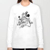 ram Long Sleeve T-shirts featuring Ram by Cowbird