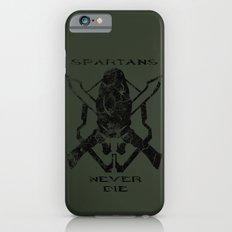 Spartans Never Die  |  Halo Slim Case iPhone 6