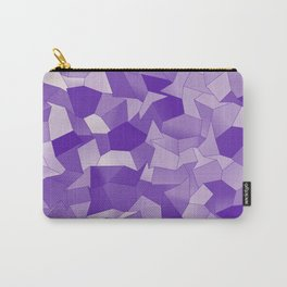Geometric Shapes Fragments Pattern wp2 Carry-All Pouch