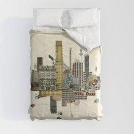 Collage City Mix 8 Comforters