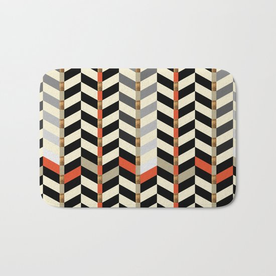Geometric#29 Bath Mat