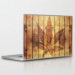 Weed & wood Laptop & iPad Skin