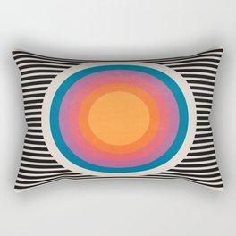 Vintage California Sun Rectangular Pillow