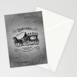 Vintage Style Undertaker Stationery Cards