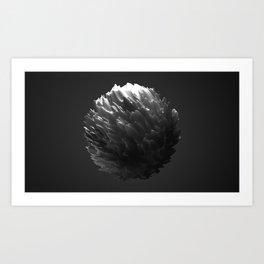 I Like Sphere - Ghost Art Print