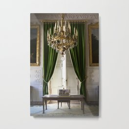 The Sitting Room at Versailles Metal Print