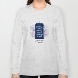 tardis - doctor who Long Sleeve T-shirt