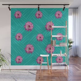 Floral pattern 2 Wall Mural