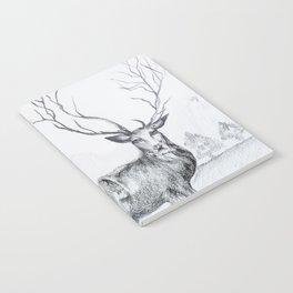 Pretty reindeer Notebook