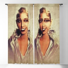 Josephine Baker, Vintage Entertainer Blackout Curtain