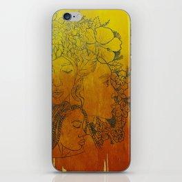 As The Sun Rises... (Flower Girls) iPhone Skin