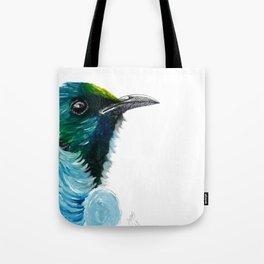 New Zealand Colorful Tui Bird Tote Bag