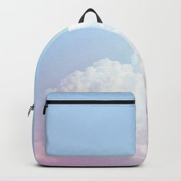 Dreamy Cotton Blue Sky Backpack