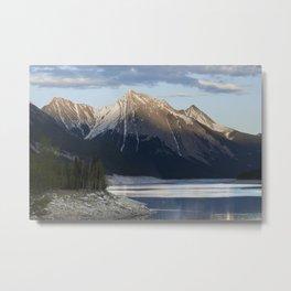 Scenic Mountain Photography Print Metal Print
