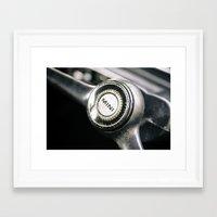 mini Framed Art Prints featuring Mini by Grafiko