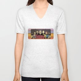 Star Trek: The Next Generation Crew Unisex V-Neck