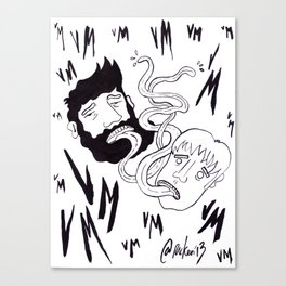 Venga Monjas Poster Canvas Print