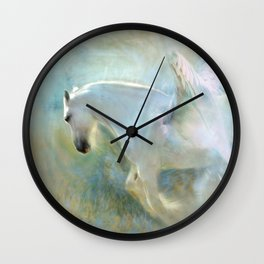 Angelic Pegasus Wall Clock