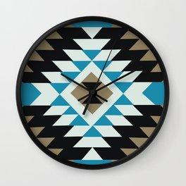 American Native Pattern No. 145 Wall Clock
