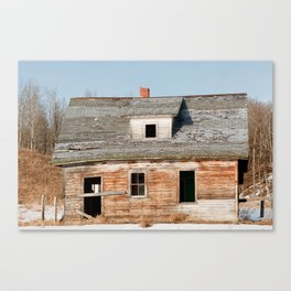 Usona Farm-house 1 Canvas Print