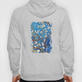 Van Gogh Branches of an Almond Tree in Blossom Hoody