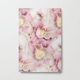 Pink Lily Mirage Metal Print