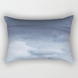 Number 80 Abstract Sky Rectangular Pillow