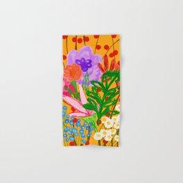 flower bomb Hand & Bath Towel