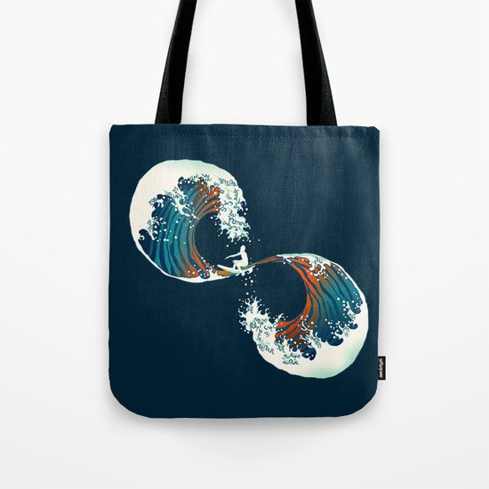 The Wave is forever Tote Bag