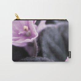 Pink saintpaulia flower PF05C Carry-All Pouch