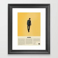 Goodbye Don Framed Art Print