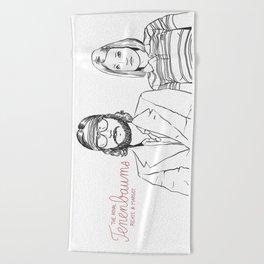 The Royal Tenenbaums (Richie and Margot) Beach Towel