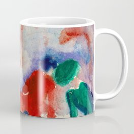 August Macke - Picnic On The Beach - Digital Remastered Edition Coffee Mug